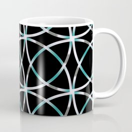 Intersecting Rings Fractal in TPGY Coffee Mug