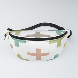 CRISSCROSSED Fanny Pack