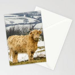 The Highland Cow Stationery Cards