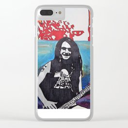 Dawn of the Shred Clear iPhone Case