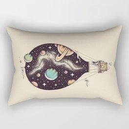 Interstellar Journey Rectangular Pillow