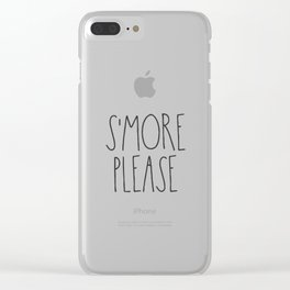 S'more Please Clear iPhone Case