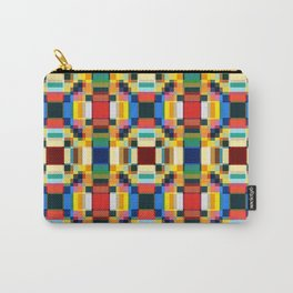 Abstract Minimal Geometric Flowers Sirrush Carry-All Pouch