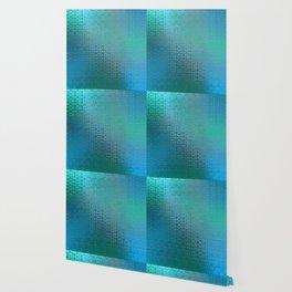 Trinity Pattern (ocean blues) Wallpaper