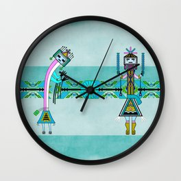 Ceremonial Native American Wall Clock