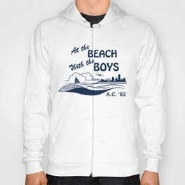 At the Beach with the Boys Hoody