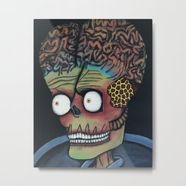 Mars Attacks! Metal Print