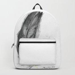 Immature Bald Eagle Feather Backpack