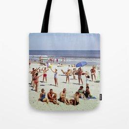 1960's Wildwood NJ Beach, Tote Bag