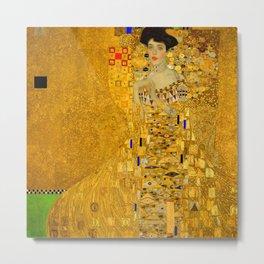 Gustav Klimt Portrait of Adel Bloch Bauer Metal Print