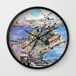 Garden Island, from Onslow Gardens Wall Clock