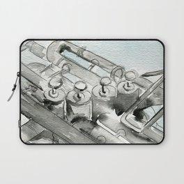 Tuba pistons Laptop Sleeve