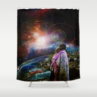 woodstock Shower Curtains featuring Woodstock Love Vibrant by ZiggyChristenson