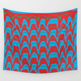 Digital Vector Art Hot Earth Wall Tapestry