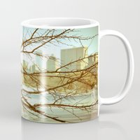 nemo Mugs featuring After Blizzard Nemo by Allen G.
