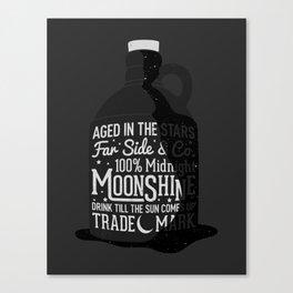 Midnight Moonshine Canvas Print