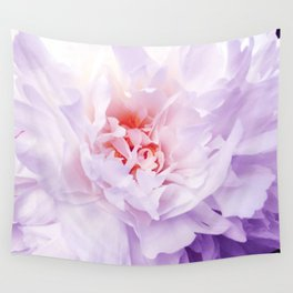 Purple Peony Wall Tapestry
