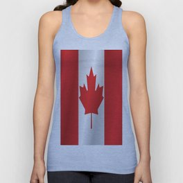 Flag of Canada Unisex Tank Top