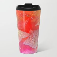 Withered hydrangea Metal Travel Mug