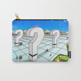 In the Valley of the Big Questions Carry-All Pouch