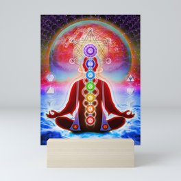 In Meditation Mini Art Print