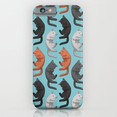 Sleeping Cats Pattern Slim Case iPhone 6s