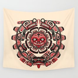 Sisiutl - The Two Headed Serpent Wall Tapestry