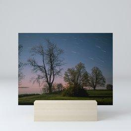 Spring Nights in Sandbanks Mini Art Print