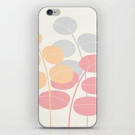 Pastel Leaves  #Society6 #decor #buyart iPhone Skin