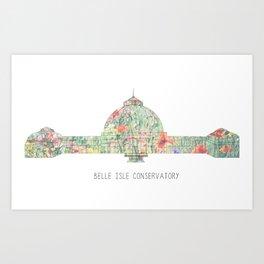 Belle Isle Conservatory Art Print