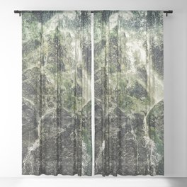 Fresh Water Sheer Curtain