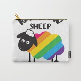 Rainbow sheep of the Carry-All Pouch