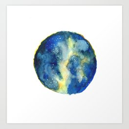 Celestial Dust Art Print