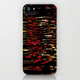 River Lights iPhone Case