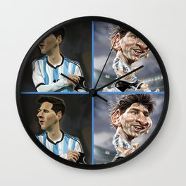 The Messi One Wall Clock