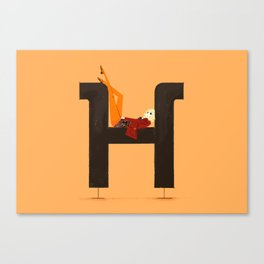 Heather & Museo Canvas Print