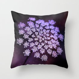 Sometimes all I see is the birth of little stars Throw Pillow