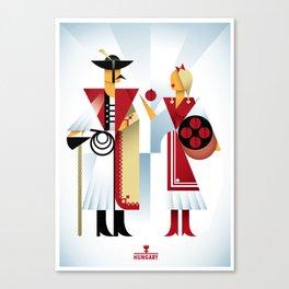 Hungary Canvas Print