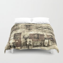 The Anchor Pub London Vintage Duvet Cover