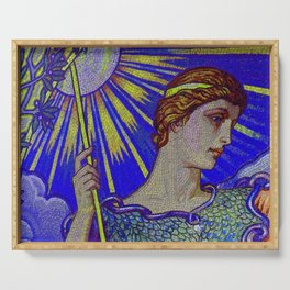 Minerva Goddess Of Wisdom 4 Serving Tray