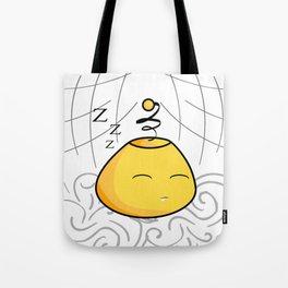 Sleeping Yellow Mo'jhon Tote Bag