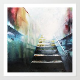 One Imperfect Step at a Time Art Print
