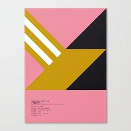 Palermo geometric logo Canvas Print