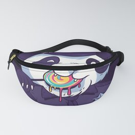 Defund the Police Panda with Lollipop Fanny Pack