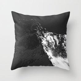 FLEE GLACIER III / Switzerland Throw Pillow