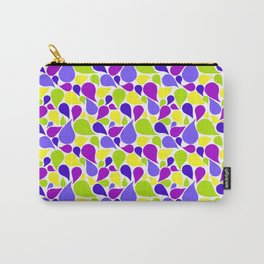 Spring color paislies Carry-All Pouch