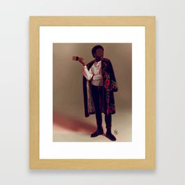 Childish Gambino Fashion Illustration || Fashion Illustration Print Framed Art Print
