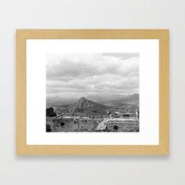 Explore The Past Framed Art Print