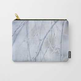 Frozen Twigs in Beautiful Winter Day Carry-All Pouch