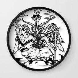 Ale Satan Wall Clock